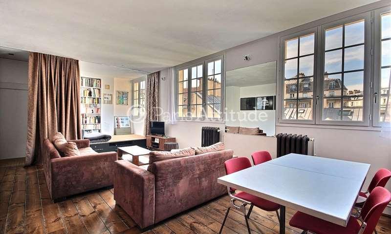 Rent Apartment 1 Bedroom 57m² rue du Faubourg Saint Antoine, 11 Paris