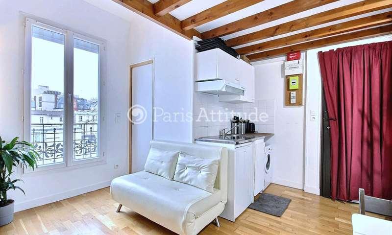 Rent Apartment Studio 19m² rue de l Aude, 14 Paris