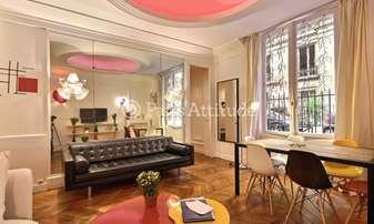 Rent Apartment 1 Bedroom 54m² square du Trocadero, 16 Paris