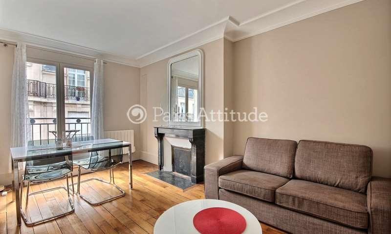 Location Appartement 2 Chambres 60m² rue de l Arc de Triomphe, 17 Paris