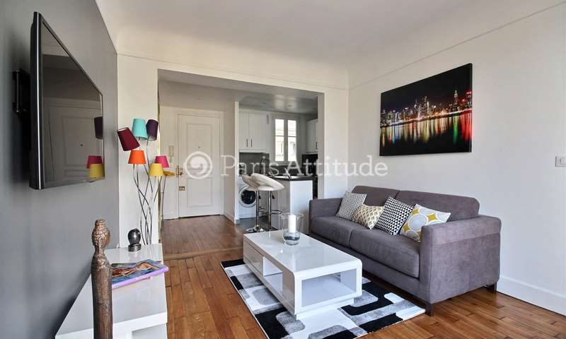 Rent Apartment 1 Bedroom 40m² rue de Longchamp, 16 Paris
