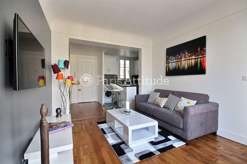 Rent furnished Apartment 1 Bedroom 40m² rue de Longchamp, 75016 Paris