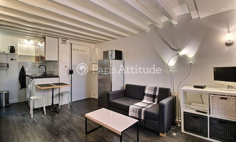 Rent Apartment Studio 18m² rue des ecouffes, 75004 Paris