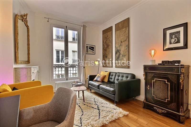 Louer Appartement meublé 1 Chambre 33m² rue de Montmorency, 75003 Paris