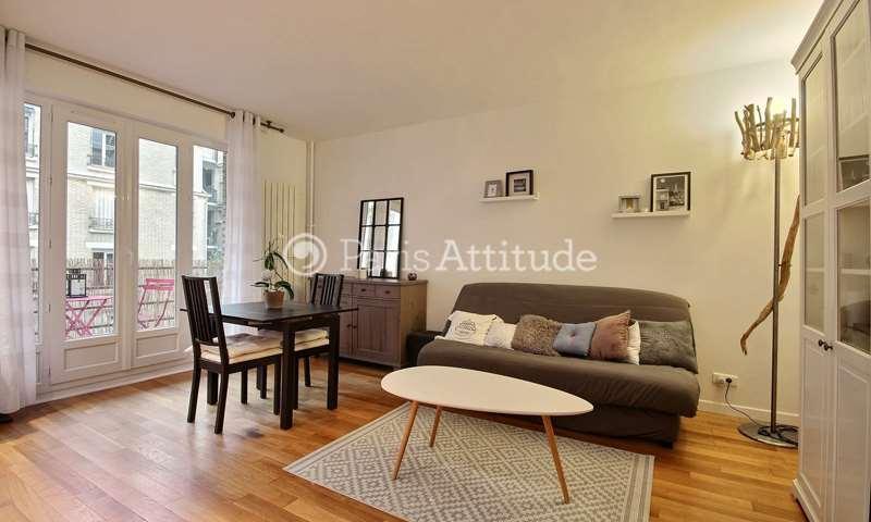 Rent Apartment 1 Bedroom 40m² rue du Dobropol, 17 Paris
