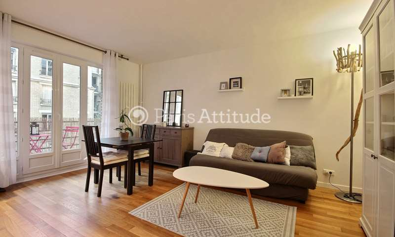 Rent Apartment 1 Bedroom 40m² rue du Dobropol, 75017 Paris