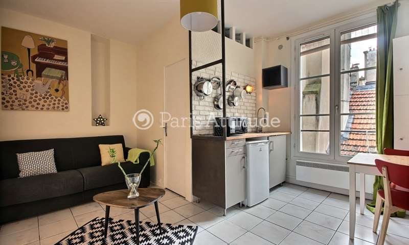 Rent Apartment Studio 16m² rue au Maire, 75003 Paris