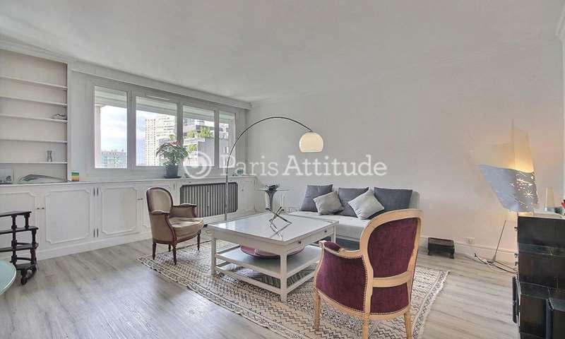 Rent Apartment 1 Bedroom 66m² rue Saint Charles, 15 Paris
