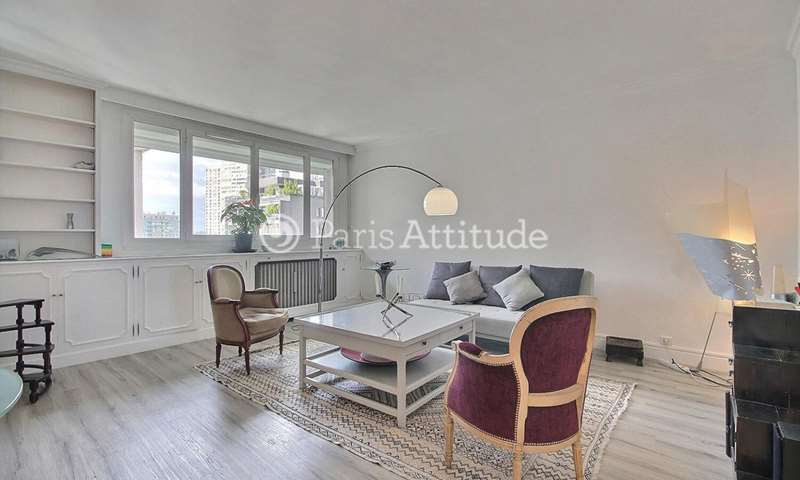 Rent Apartment 1 Bedroom 66m² rue Saint Charles, 75015 Paris