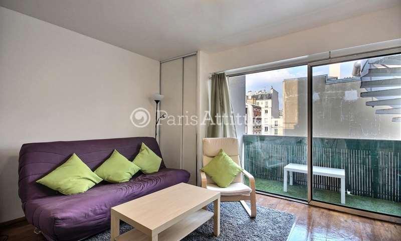 Rent Apartment Studio 26m² rue Descombes, 17 Paris