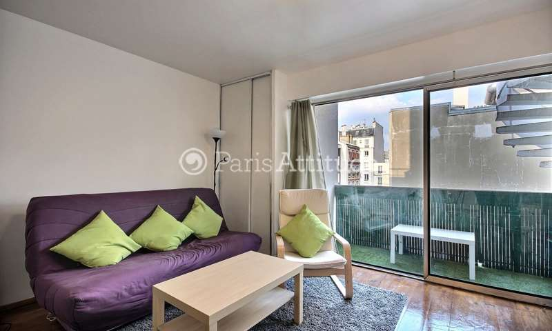 Rent Apartment Studio 26m² rue Descombes, 75017 Paris