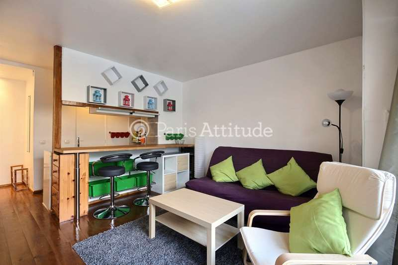 Louer un appartement paris 75017 26m porte de - Porte champerret salon ...