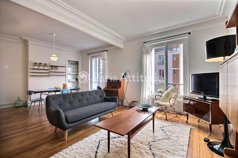 Louer Appartement meublé 2 Chambres 68m² rue du Faubourg Du Temple, 75010 Paris