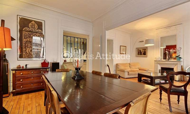 Rent Apartment 3 Bedrooms 110m² rue Dulong, 17 Paris