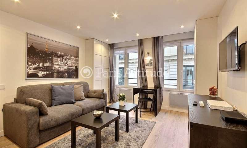 Rent Apartment Studio 25m² rue Poissonniere, 2 Paris