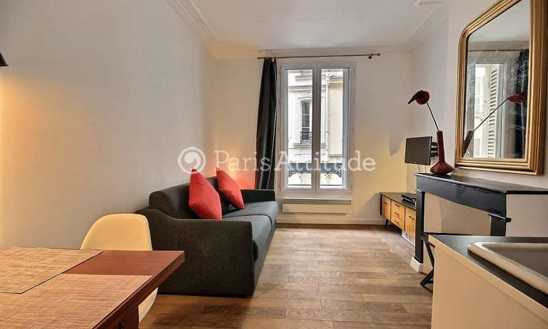 Rent Apartment 1 Bedroom 22m² rue Garreau, 18 Paris