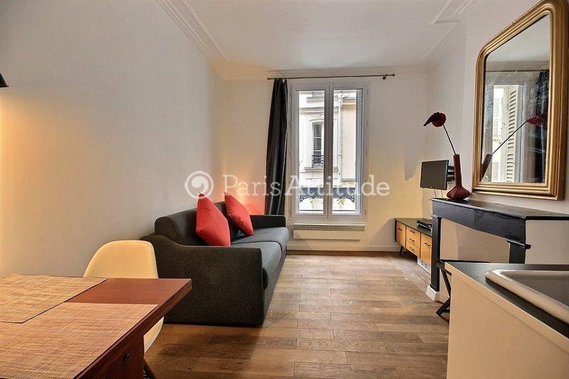 Aluguel Apartamento mobiliado 1 quarto 22m² rue Garreau, 75018 Paris
