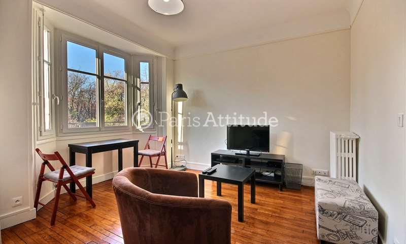 Location Appartement Studio 32m² rue du Clos Feuquieres, 15 Paris