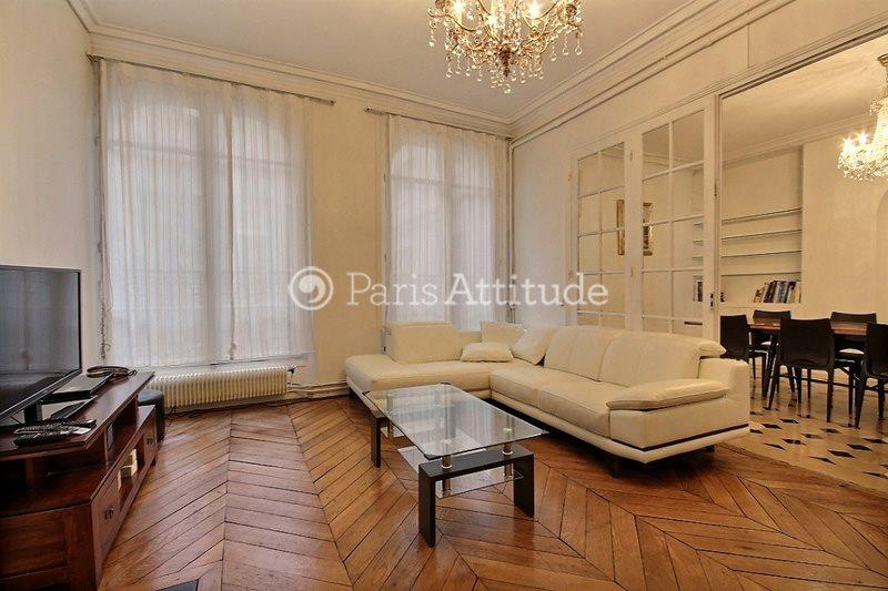 Rent furnished Apartment 2 Bedrooms 85m² rue Saint Louis en l Île, 75004 Paris