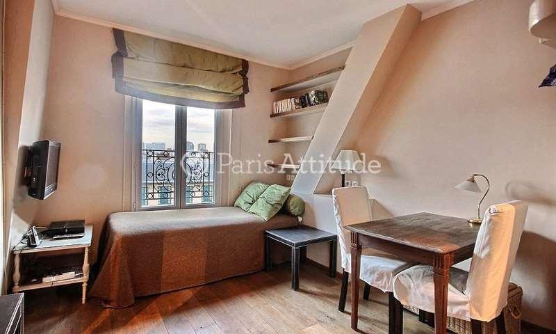 Rent Apartment Studio 20m² rue Davioud, 16 Paris