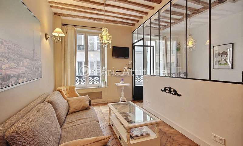 Rent Apartment 1 Bedroom 28m² rue Guisarde, 6 Paris