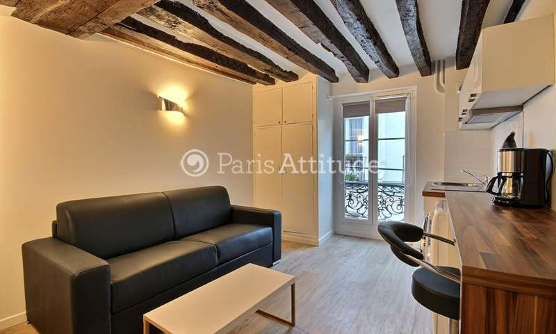 Rent Apartment Studio 15m² rue de l Hirondelle, 6 Paris