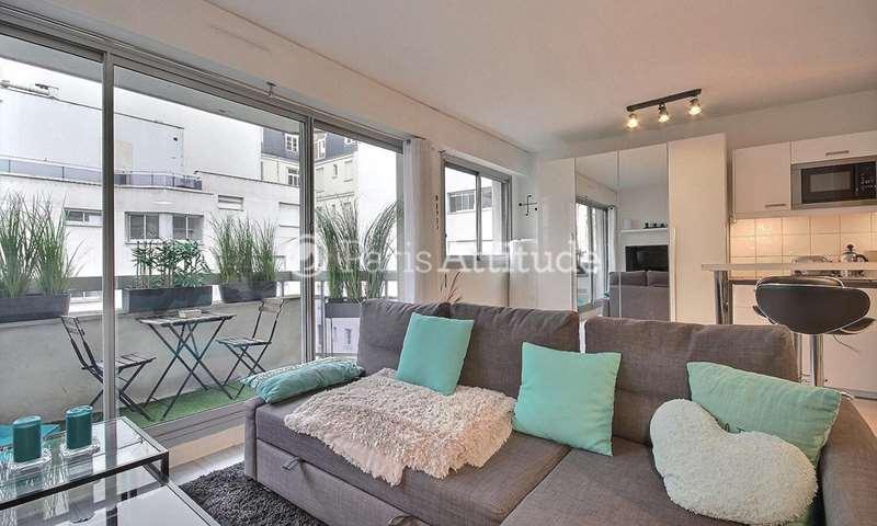 Rent Apartment Studio 30m² Rue Parmentier, 92200 Neuilly sur Seine