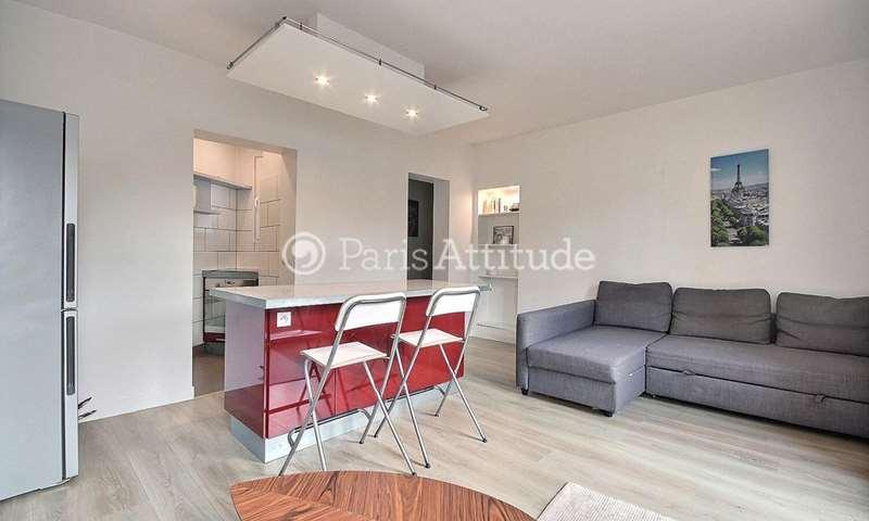 Rent Apartment 1 Bedroom 39m² boulevard Ornano, 18 Paris