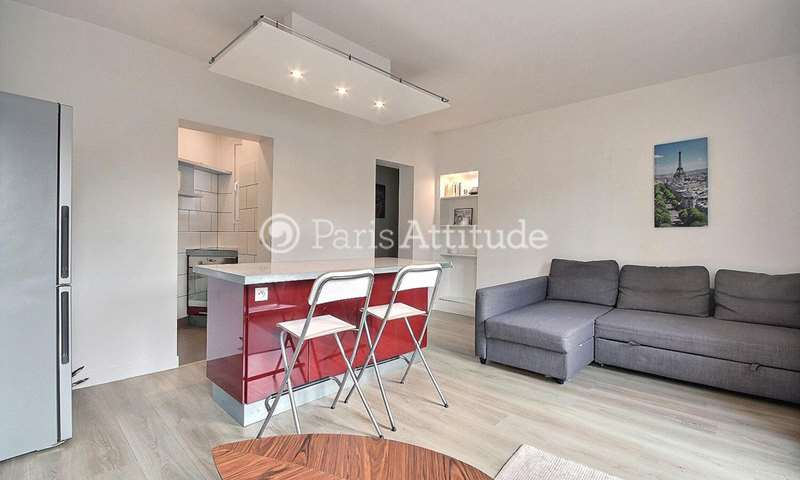 Rent Apartment 1 Bedroom 39m² boulevard Ornano, 18 Paris