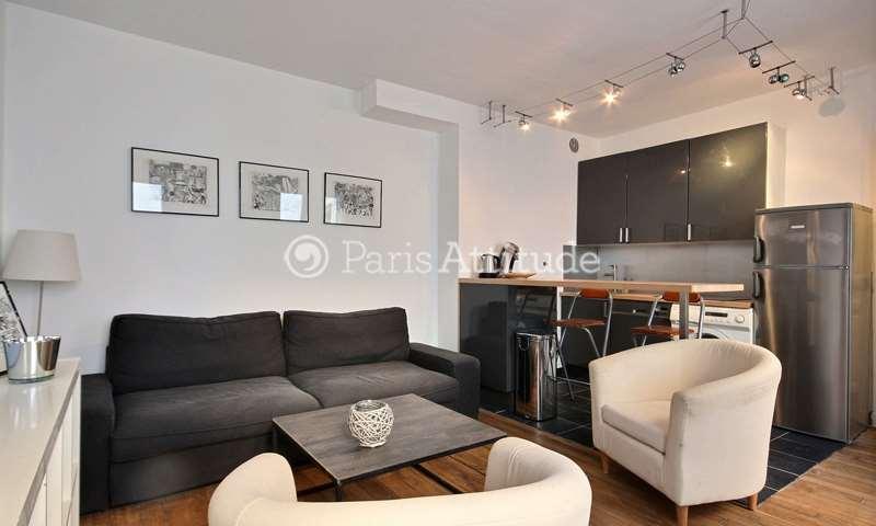 Rent Apartment 1 Bedroom 36m² rue Crozatier, 12 Paris