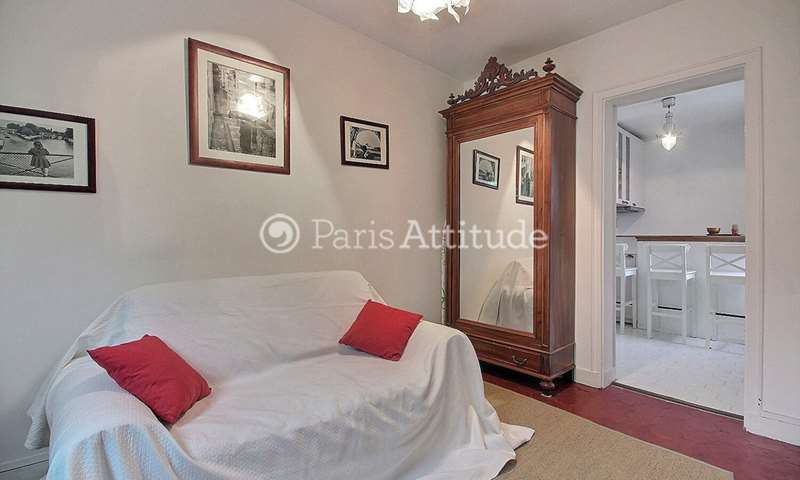 Rent Apartment 1 Bedroom 30m² rue Pergolese, 16 Paris