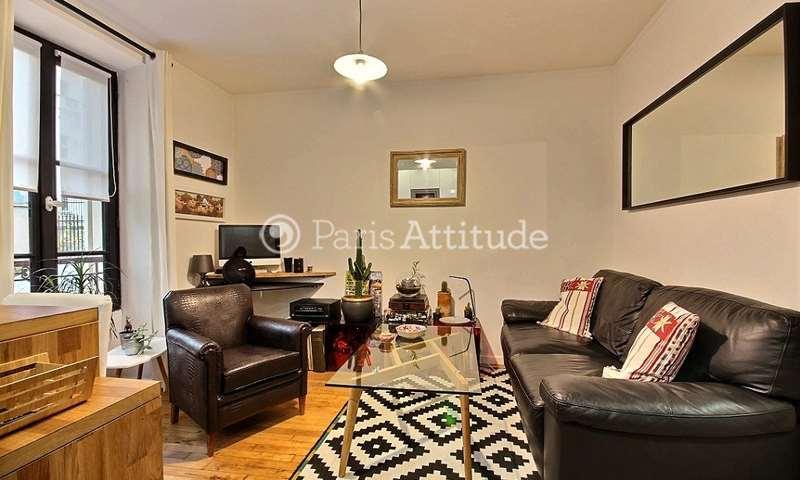 Location Appartement 1 Chambre 27m² rue Burq, 18 Paris