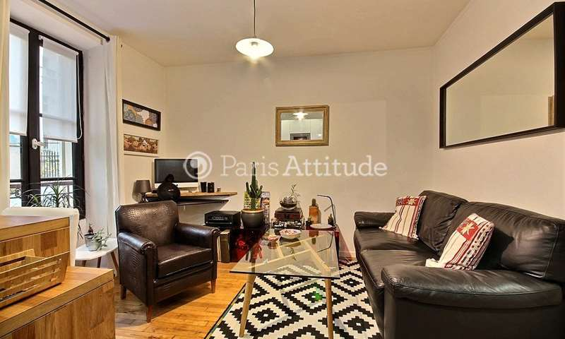 Rent Apartment 1 Bedroom 27m² rue Burq, 18 Paris