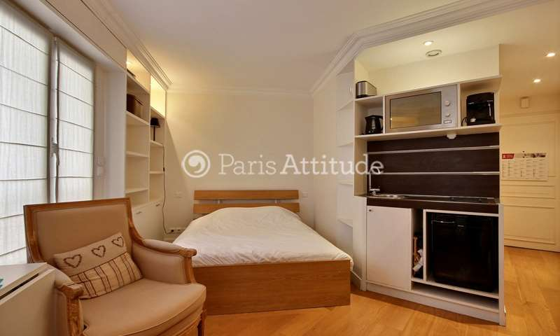 Rent Apartment Studio 20m² rue de la Tour, 16 Paris