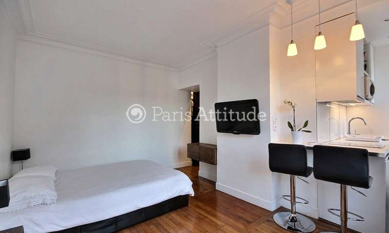 Rent Apartment Studio 26m² rue Dalou, 75015 Paris