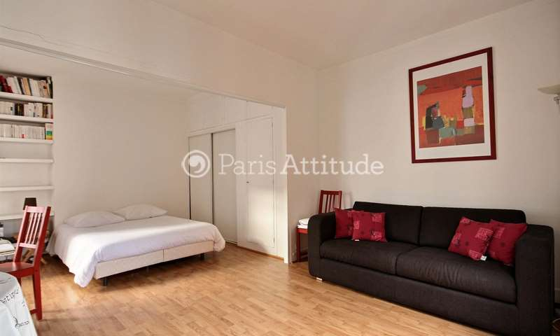 Rent Apartment Alcove Studio 33m² rue de Lancry, 10 Paris