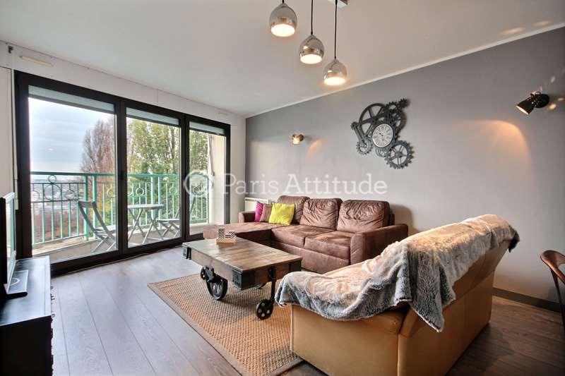 Rent apartment in paris 75020 69m batignolles ref 12730 for Living room 75020