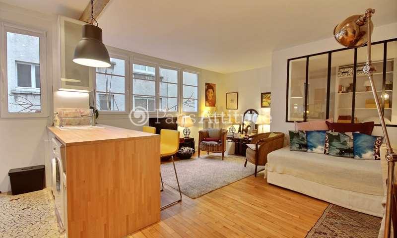 Aluguel Apartamento Studio 34m² rue de Laghouat, 18 Paris