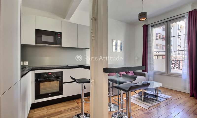 Rent Apartment 1 Bedroom 37m² rue Jacques Mawas, 15 Paris