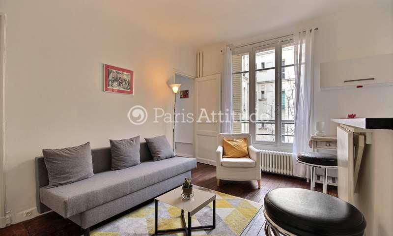 Rent Apartment 1 Bedroom 40m² boulevard Voltaire, 11 Paris