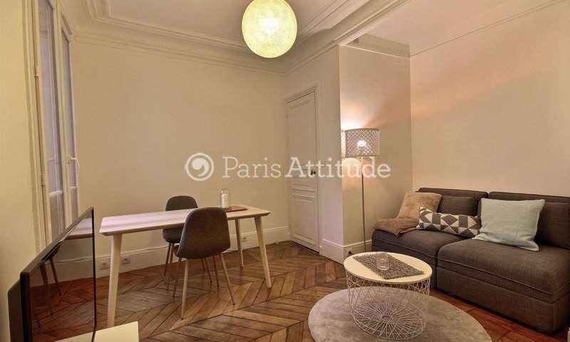 Rent Apartment 1 Bedroom 33m² rue Clapeyron, 8 Paris