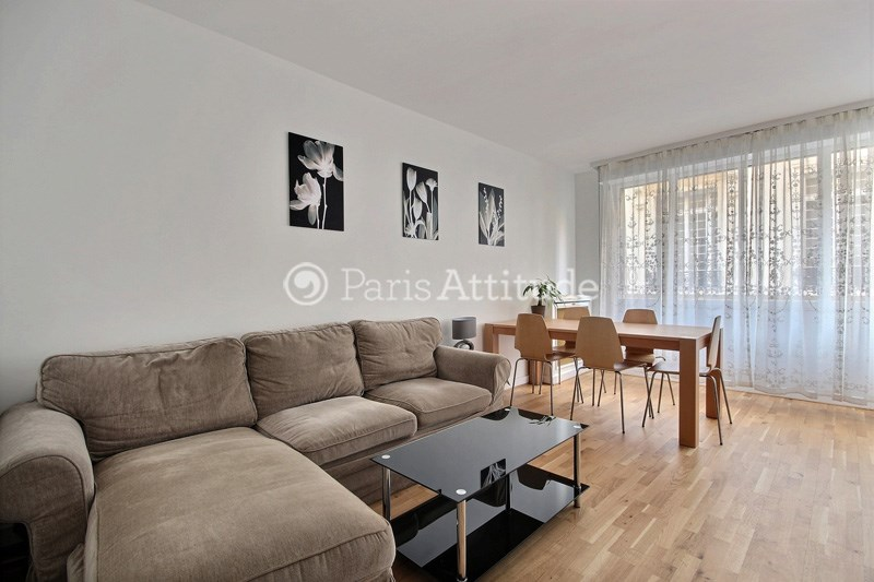 Rent Apartment 2 Bedroom 60m² rue Leonard de Vinci, 75016 Paris