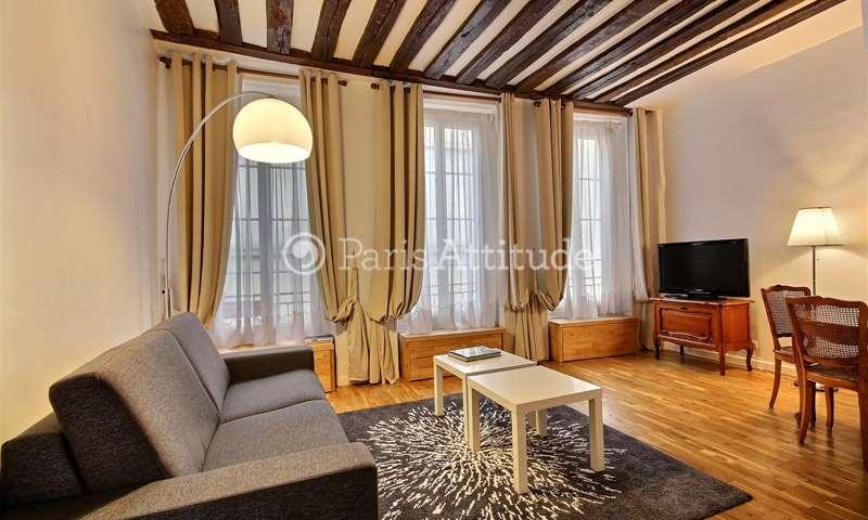 Rent Apartment Alcove Studio 32m² rue de la Huchette, 5 Paris