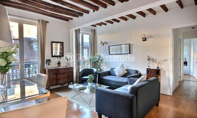 Location Appartement 2 Chambres 68m² rue du Pas de la Mule, 4 Paris