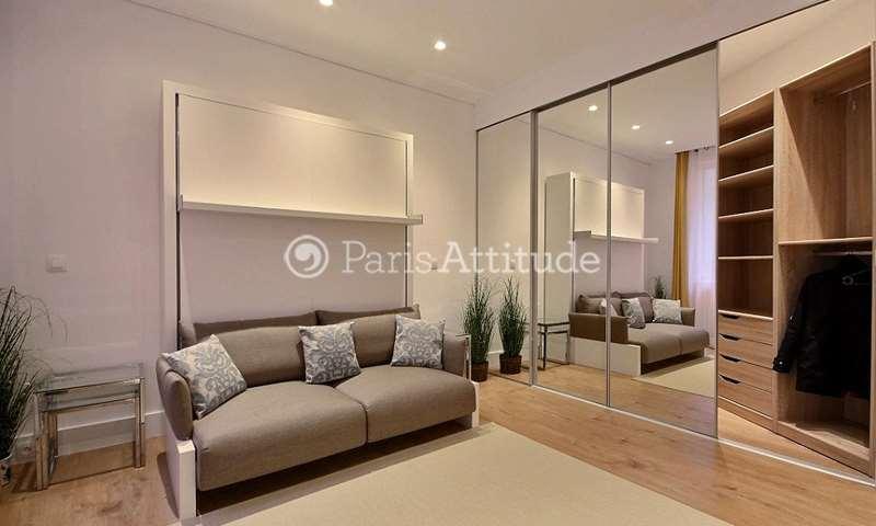 Aluguel Apartamento Quitinete 42m² rue Beaujon, 8 Paris
