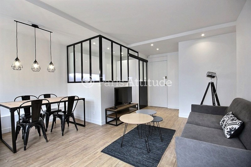 Rent Apartment 1 Bedroom 40m² rue de la Croix Nivert, 75015 Paris