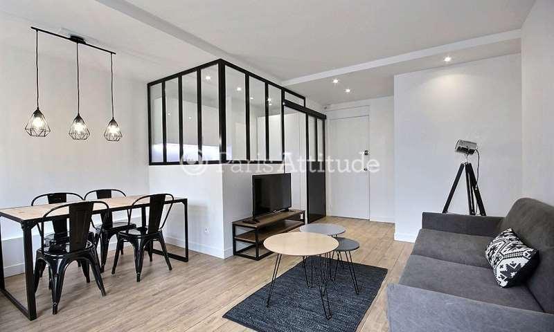Rent Apartment 1 Bedroom 40m² rue de la Croix Nivert, 75015 Paris