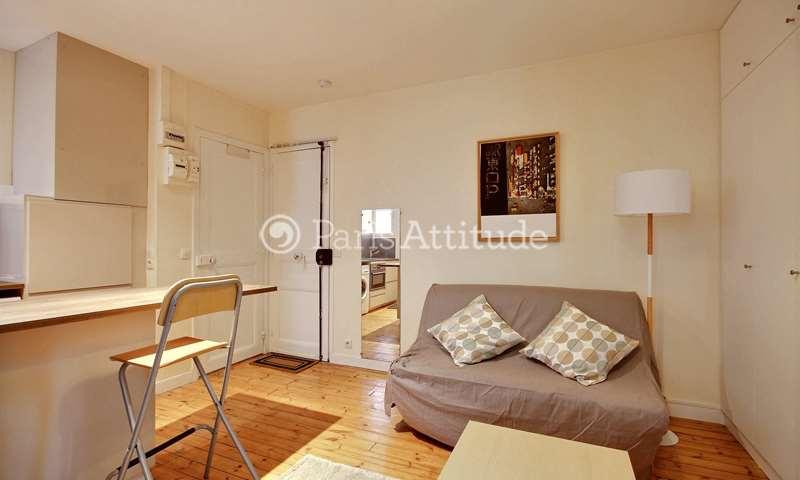 Location Appartement Studio 21m² rue d Alsace Lorraine, 19 Paris