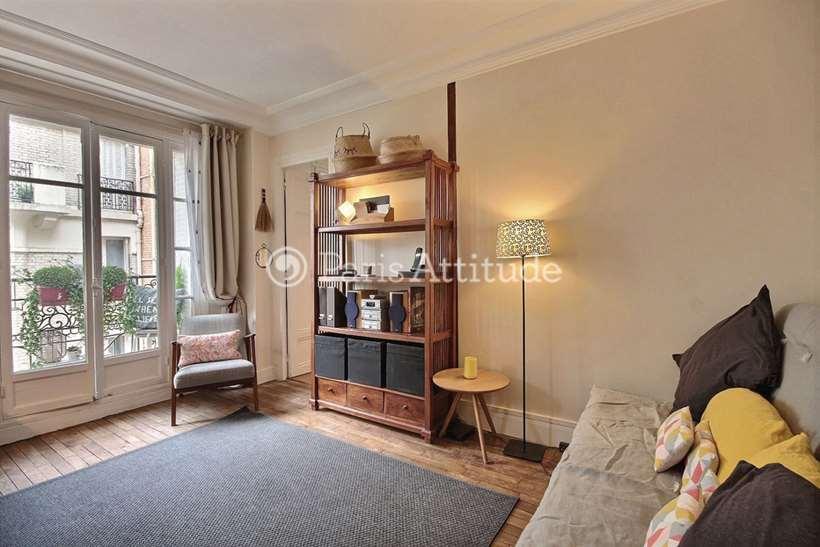 Rent furnished Apartment Studio 28m² rue Olier, 75015 Paris