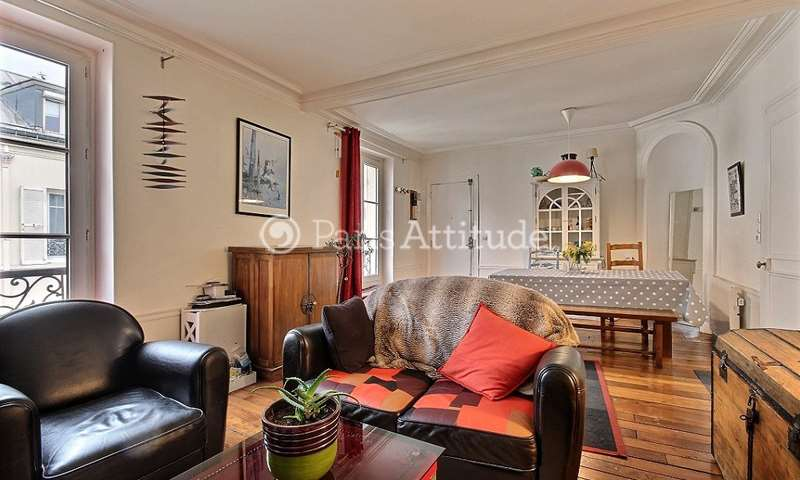 Rent Apartment 1 Bedroom 55m² allee Verte, 75011 Paris